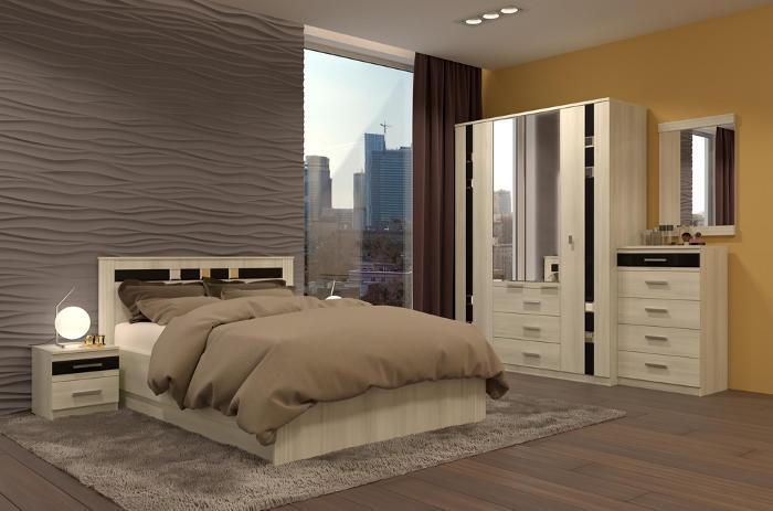 Модульная мебель в спальню Николь
