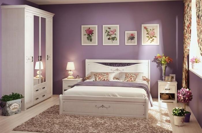 Модульная мебель в спальню Афродита