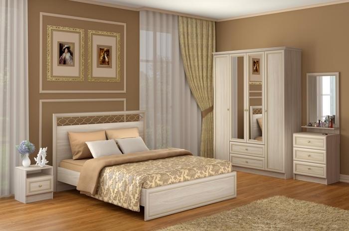 Модульная мебель в спальню Брайтон