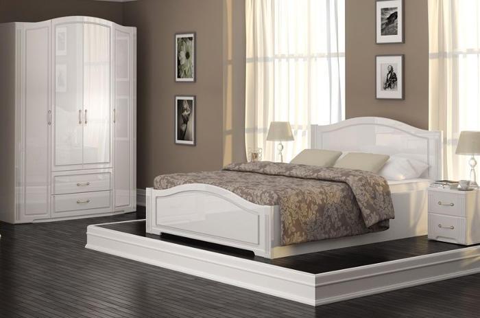 Модульная мебель в спальню Виктория