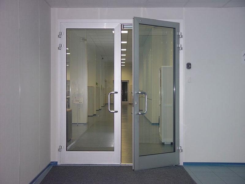 Где заказать алюминиевые двери в Череповце