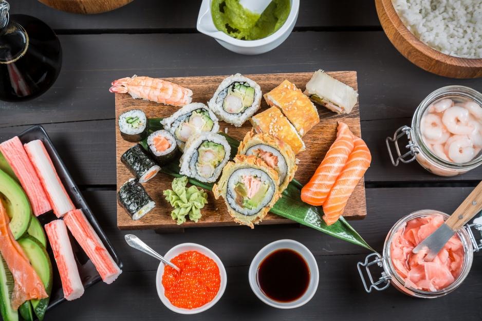 Быстрая доставка суши в Череповце