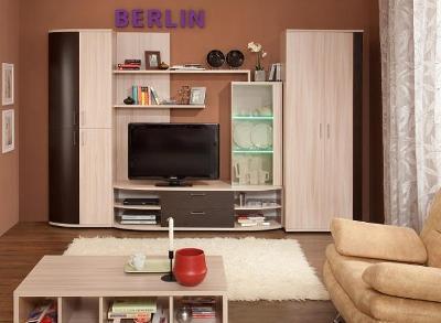 Модульная мебель в гостиную BERLIN 1 (Венге)