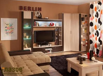 Модульная гостиная BERLIN (Венге))