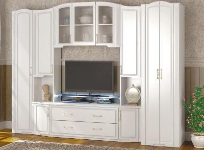 Модульная мебель в гостиную Виктория