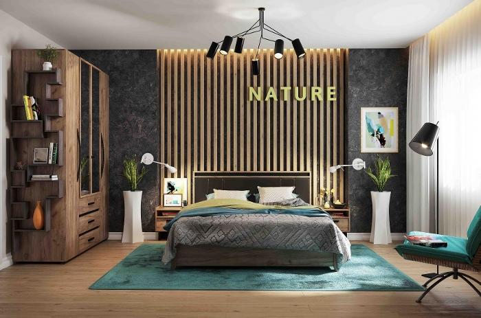 Модульная мебель в спальню Nature