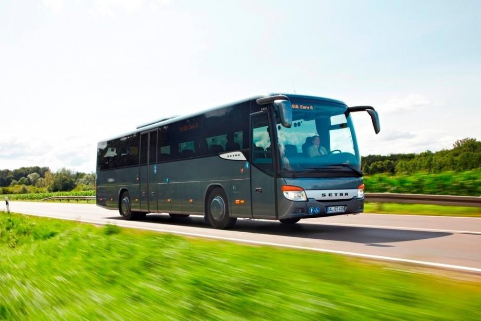 перевозки автобусами