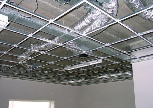 металлические подвесные потолки в туле цены
