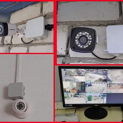 """установку видеонаблюдения в детском саду """"Колокольчик"""" в Халилово"""