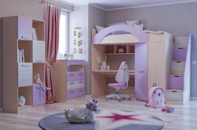 Модульная мебель в детскую Рико-М