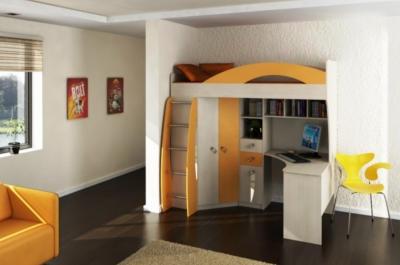 Модульная мебель в детскую Денди