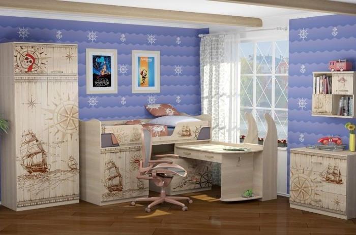 Модульная мебель в детскую Квест