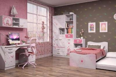 Модульная мебель в детскую Принцесса