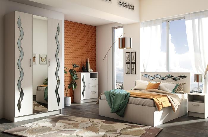 Модульная мебель в спальню Диана