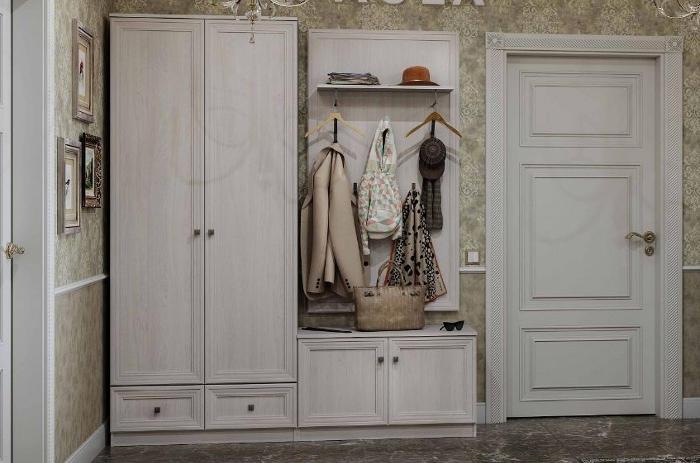 Модульная мебель в прихожую Paola