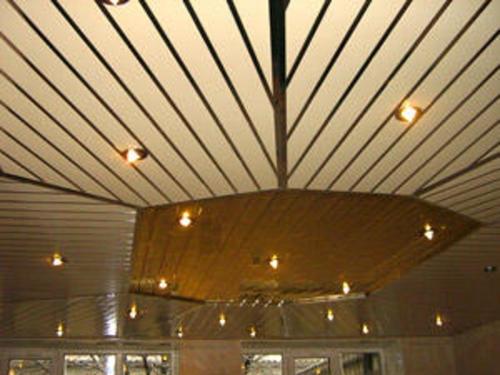 реечный потолок тула