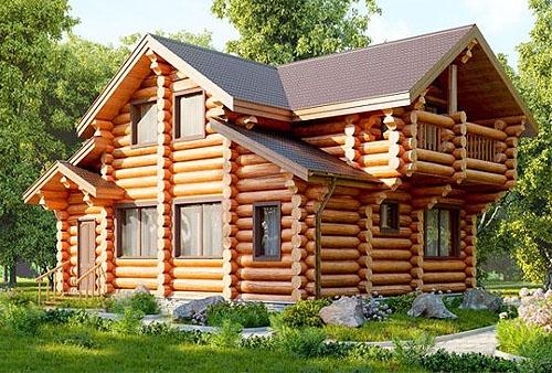 Строительство домов из бревна под ключ в Череповце