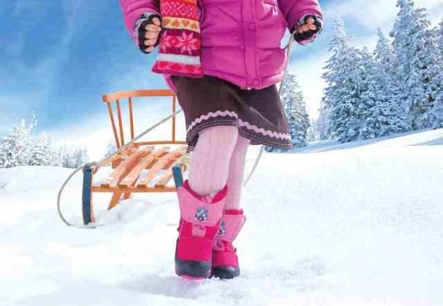 Зимняя обувь для детей в Череповце