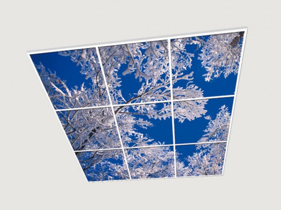 купить стеклянный витражный потолок в туле