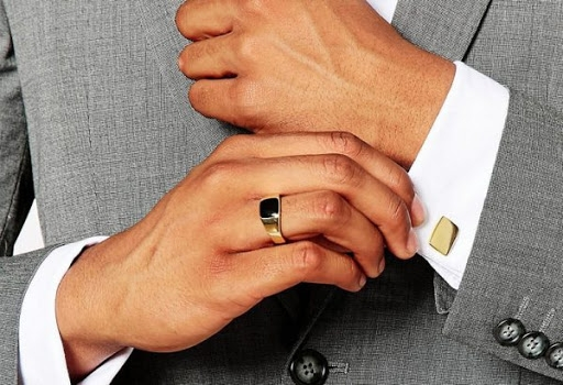 кольцо из золота мужское