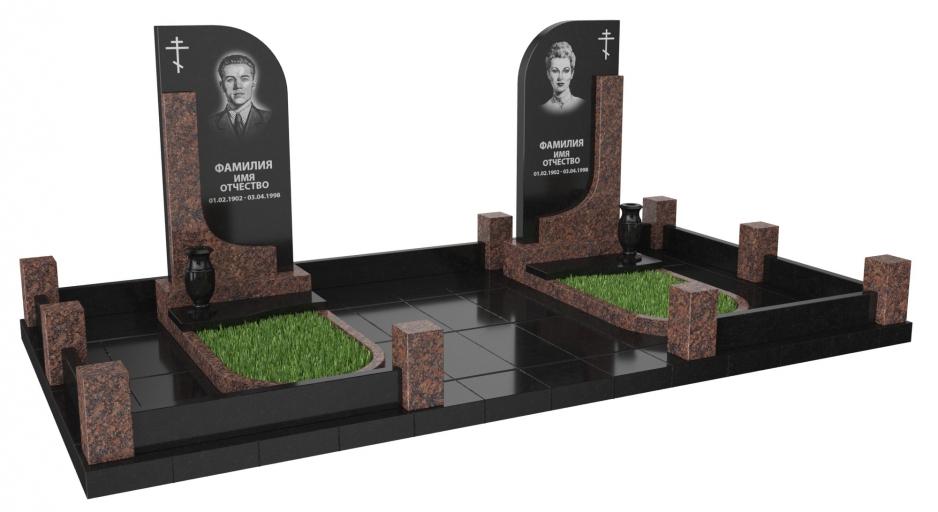 фото на надгробном памятнике