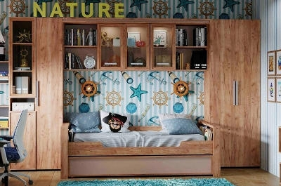 Модульная мебель в детскую Nature