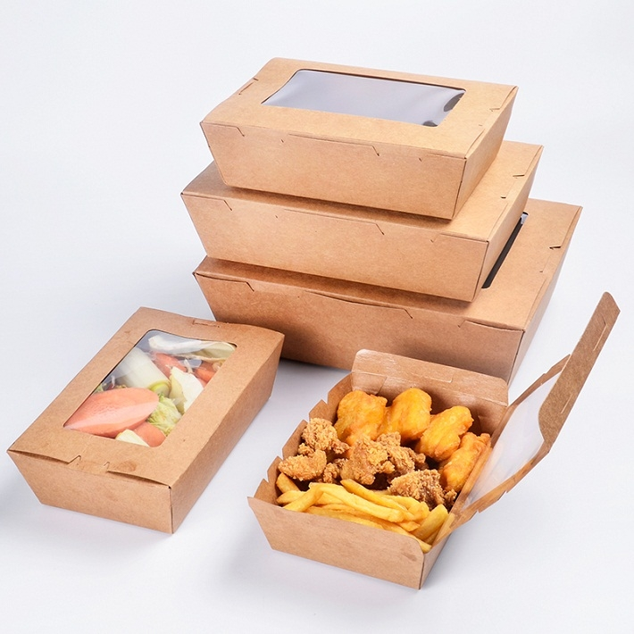 Упаковка из картона для еды