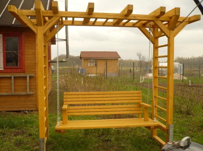 купить мебель из дерева для дачи