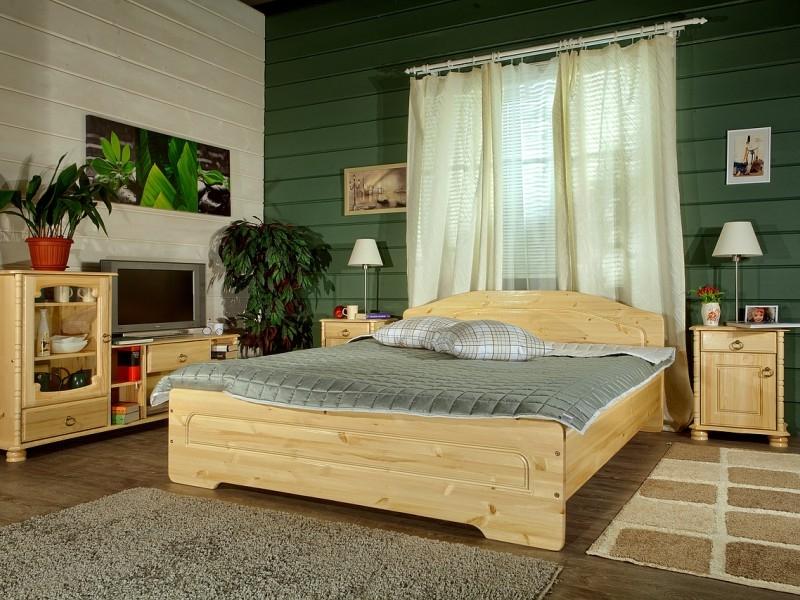 Спальня из массива сосны