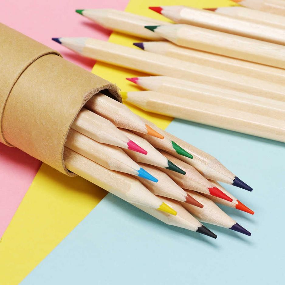 упаковка цветных карандашей