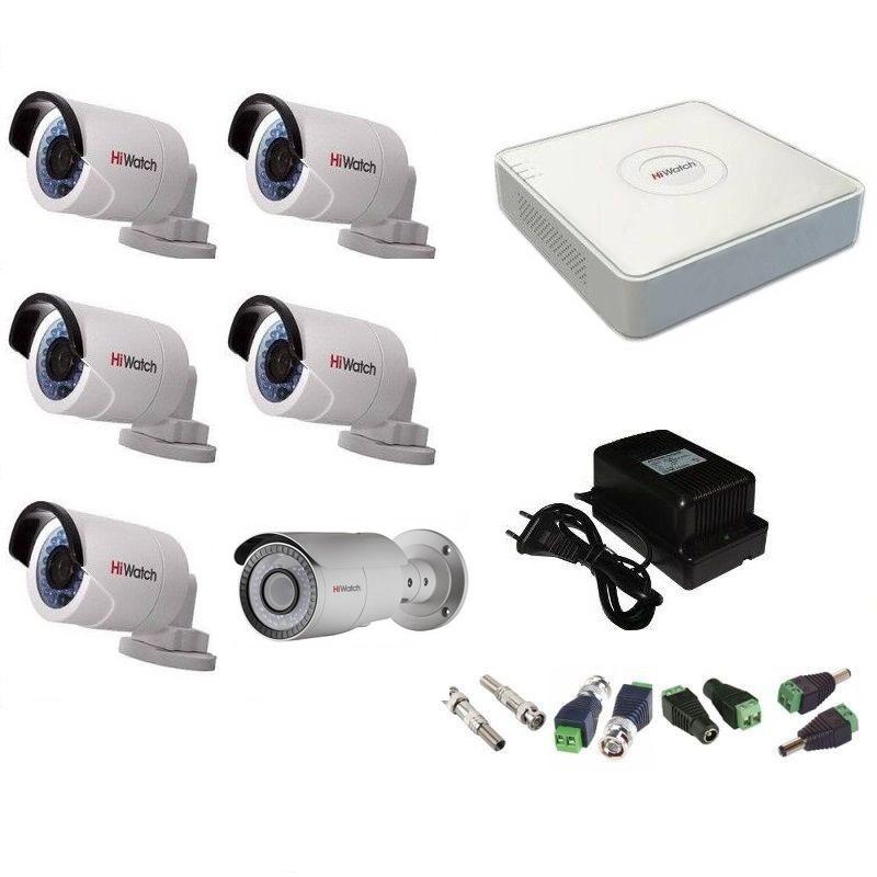 камеры видеонаблюдения HiWatch