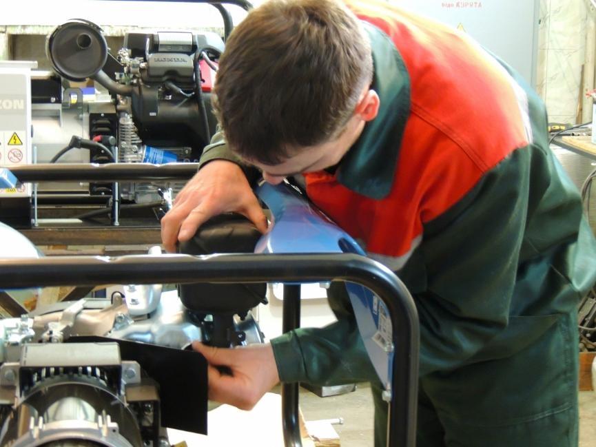 ремонт бензогенератора