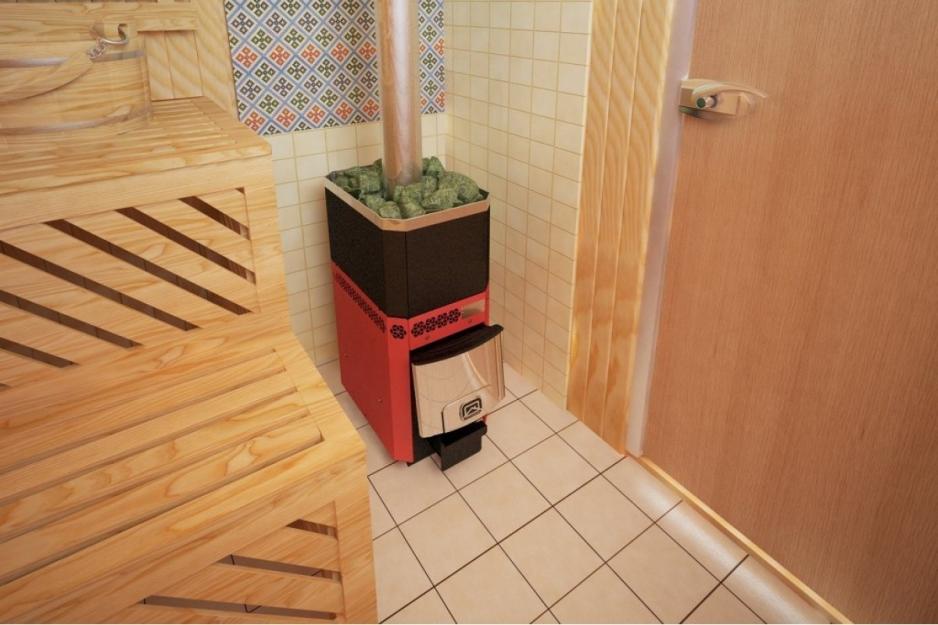 банная печь теплодар