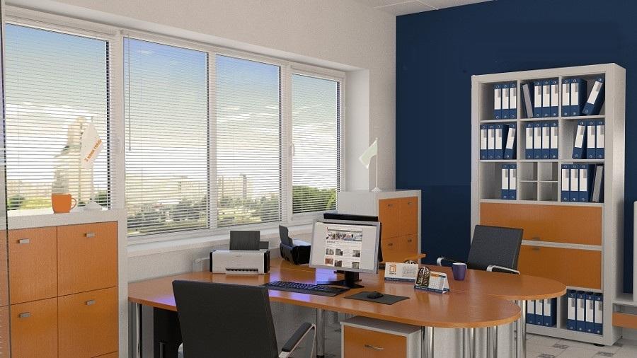 офисные окна