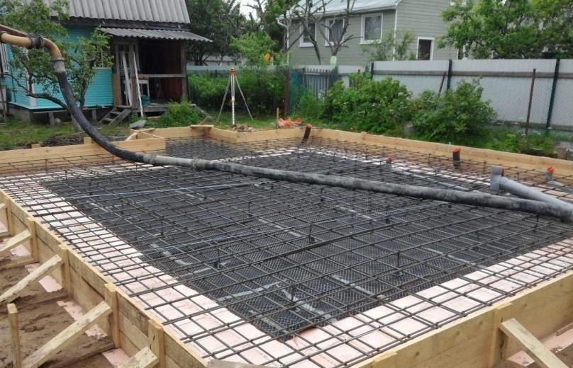 бетон для фундамента в туле