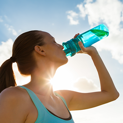 питьевая вода летом
