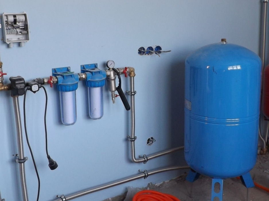 системы водоснабжения частного дома