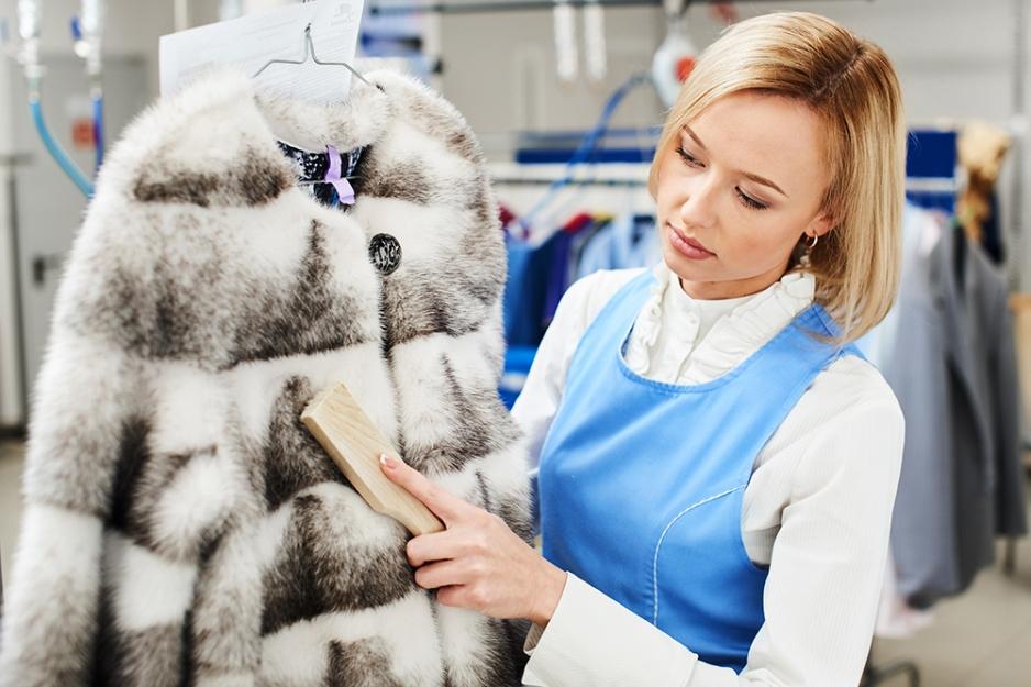 химчистка зимней одежды