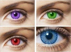 цветные контактные линзы в туле