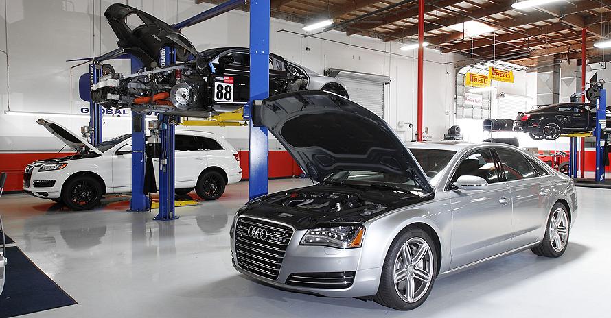 Автосервис по ремонту Audi