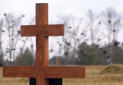 крест на могиле