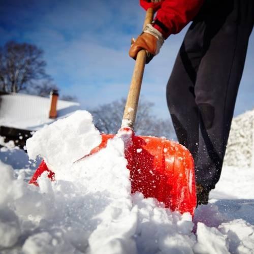 очистка от снега и наледи