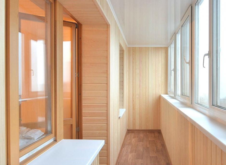 отделка балконов
