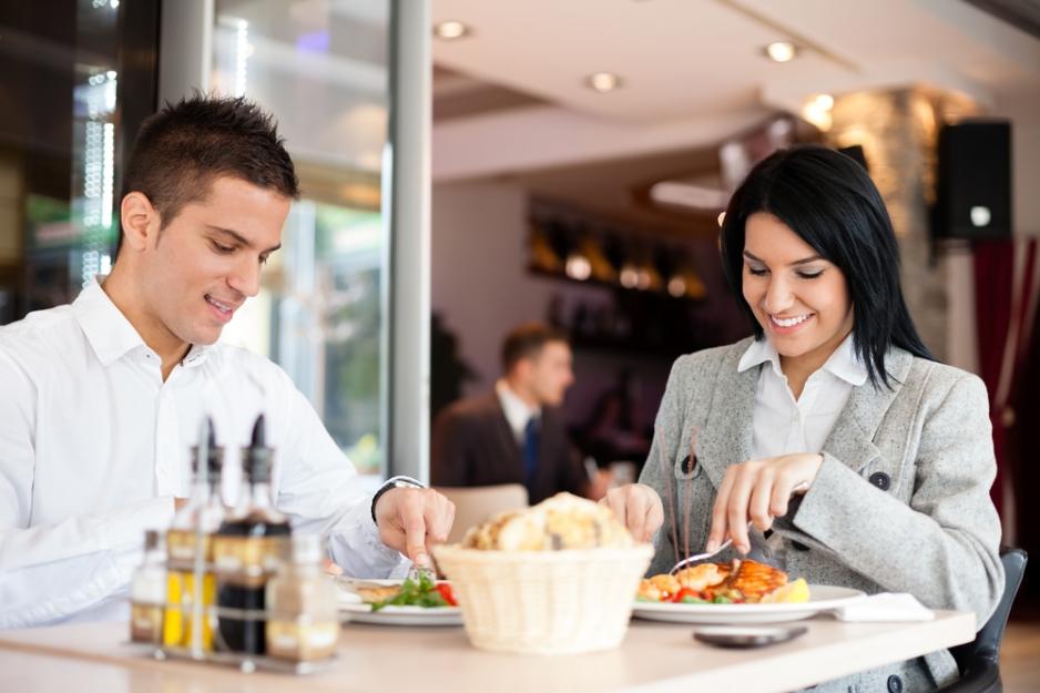 Обед в ресторане