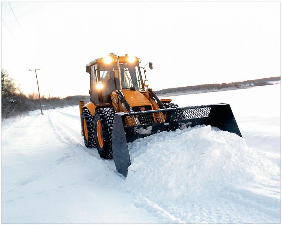 Очистка от снега