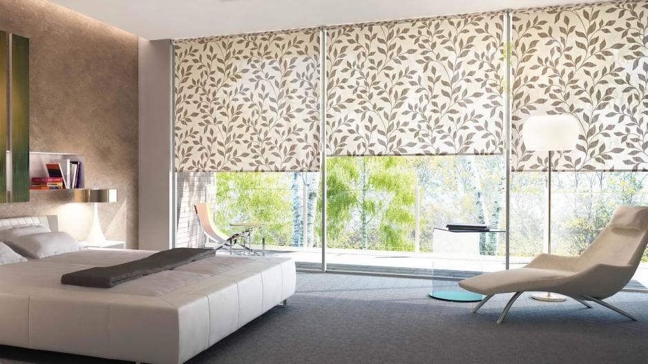 Рулонные шторы из ткани