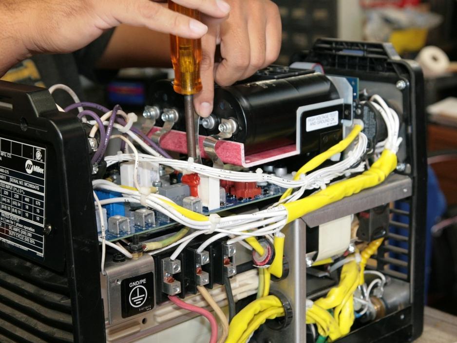 ремонт инверторных сварочных аппаратов