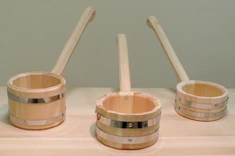бондарные изделия для бани