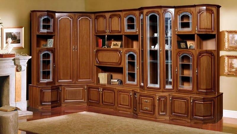Шкаф из ценных пород дерева