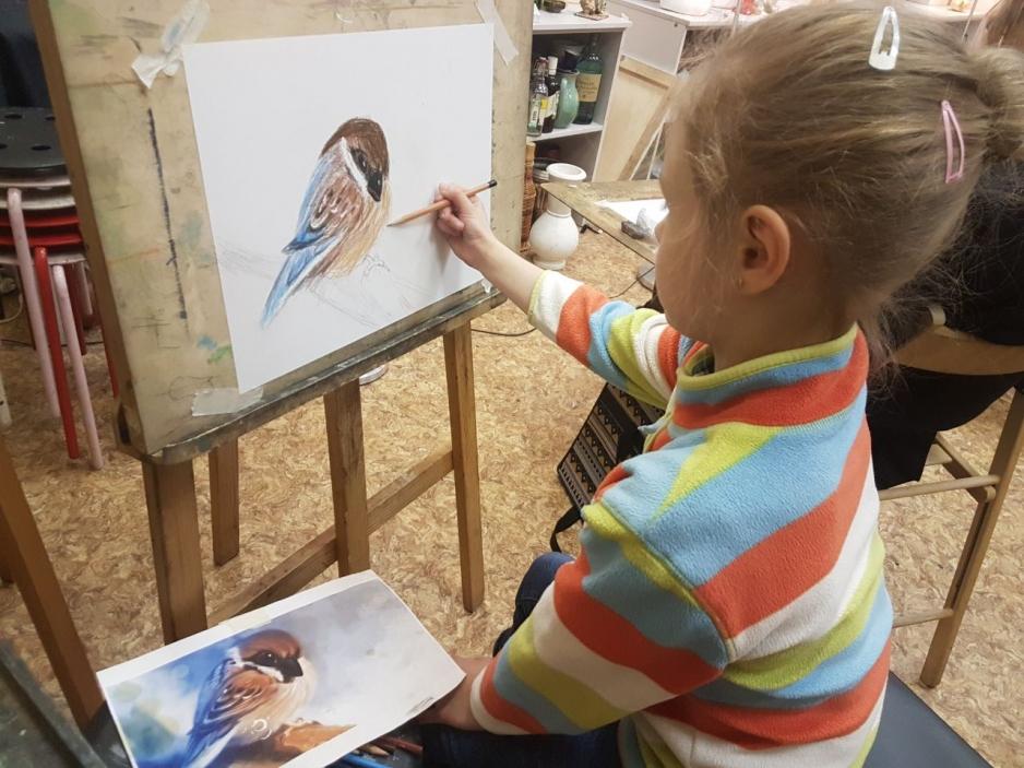 рисование детей